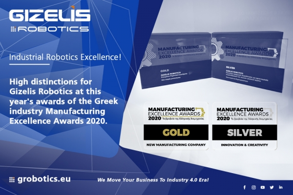 Manufacturing Excellence Awards 2020 - Industrial Robotics Excellence!